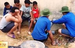 Du học sinh Việt tại Nga về nước làm từ thiện