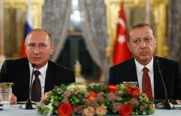 """Nga bắt đầu xây dựng dự án """"Dòng chảy Thổ Nhĩ Kỳ"""""""
