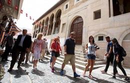 Du khách quốc tế đến Tunisia tăng trở lại