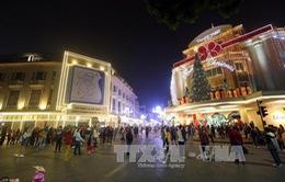Trên 200.000 lượt du khách đến Hà Nội dịp Tết Dương lịch 2017