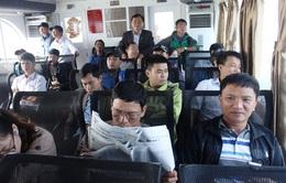 Tạm dừng khai thác tàu cao tốc ra đảo Cồn Cỏ vì lý do an toàn