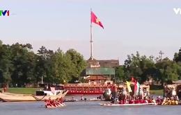 Sôi nổi Hội đua thuyền truyền thống trên sông Hương