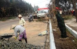 Phú Yên xây tuyến đường đi bộ ven biển
