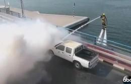 Dubai ra mắt thiết bị cứu hỏa mới