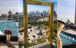 Tòa tháp khung tranh ở Dubai