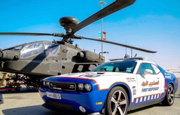 Siêu xe cứu thương tại Dubai
