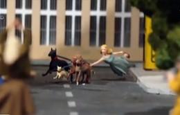 Mô hình 3D tái hiện lịch sử thành phố Berlin (Đức)