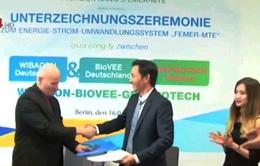 Đức chuyển giao công nghệ chuyển đổi năng lượng thành điện năng