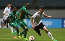 Vòng 1/8 FIFA U20 thế giới 2017: U20 Zambia 4-3 U20 Đức, U20 Anh 2-1 U20 Costa Rica