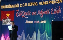 Kỷ niệm 73 năm ngày thành lập QĐND Việt Nam tại Leipzig, CHLB Đức