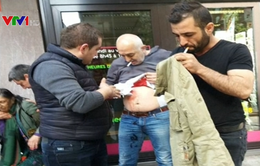 Đụng độ trước Lãnh sự quán Thổ Nhĩ Kỳ ở Bỉ, nhiều người bị thương