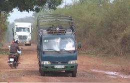 Bình Phước: Đường xuống cấp trầm trọng do xe né trạm thu phí