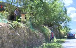 Phú Yên: Thi công mở rộng đường, nhà dân bị mất lối vào