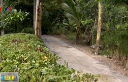 Cần Thơ khẩn trương hoàn thành đường nông thôn thi công dang dở