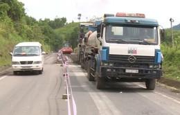 Đẩy nhanh tiến độ sửa chữa đường Hồ Chí Minh đoạn Quảng Nam - Kon Tum