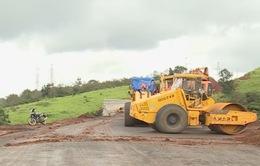 Đắk Nông: Tuyến đường ngàn tỷ chậm tiến độ 2 năm