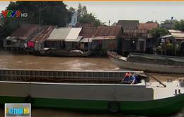 Cần xử lý nghiêm những hộ dân cố ý lấn chiếm sông rạch để làm nhà