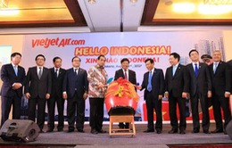 Khai trương đường bay Jakarta – TP.HCM