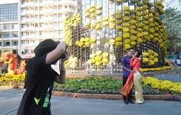6 điểm chụp ảnh thực tế ảo tại đường hoa Nguyễn Huệ