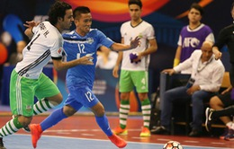 Thái Sơn Nam giành HCĐ giải futsal các CLB châu Á 2017