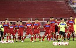 VIDEO: U20 Việt Nam và U20 Argentina tập buổi cuối cùng trước trận giao hữu