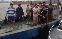 Quảng Trị: Cứu 10 ngư dân gặp nạn trên biển