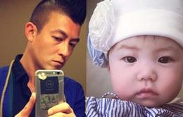 Trần Quán Hy lần đầu khoe ảnh con gái