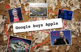 """Dow Jones đăng """"tin vịt"""" Google mua Apple với giá 9 tỷ USD"""