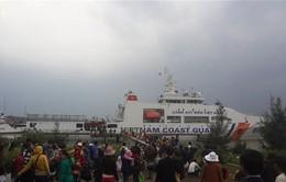Đảm bảo phương tiện đưa người dân Lý Sơn về đất liền đón Tết