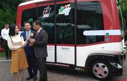 EZ10 - Xe bus không người lái đầu tiên ở Đài Loan