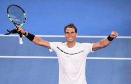 Australia mở rộng 2017: Vượt qua Baghdatis, Nadal đối đầu tài năng trẻ 19 tuổi ở vòng 3