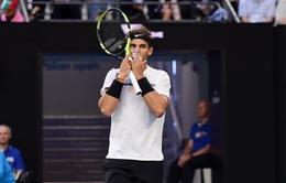 Top 5 pha bóng hay nhất Australia mở rộng 2017 ngày 25/1: Nadal cũng phải đứng nhìn