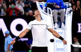 Top 5 pha bóng hay nhất trận Nadal - Dimitrov tại Australia mở rộng 2017