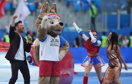 Chùm ảnh: Ấn tượng lễ khai mạc Cúp Liên đoàn các châu lục 2017