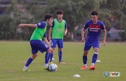 ẢNH: ĐT Việt Nam tiếp tục rèn chiến thuật, sẵn sàng cho trận đấu gặp ĐT Campuchia