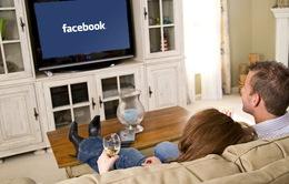 Facebook mở rộng ứng dụng xem video trên truyền hình