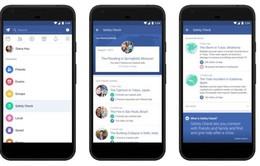Facebook cập nhật tính năng kiểm tra an toàn khi thiên tai hay khủng bố xảy ra