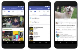 """Ra mắt """"Watch"""", Facebook quyết đấu với Youtube"""