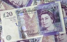 Đồng Bảng suy yếu, tăng trưởng chi tiêu dùng tại Anh thấp