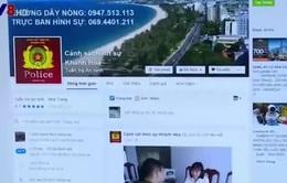Facebook của Cảnh sát hình sự Khánh Hòa mang lại hiệu quả cao