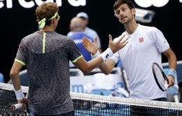 Bị loại sốc ở Australia mở rộng, Djokovic nhận lời xin lỗi từ đối thủ