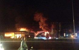 Bà Rịa - Vũng Tàu: Cháy lớn tại cây xăng Phước Hòa