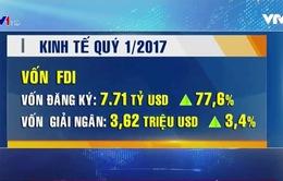 Tổng sản phẩm quốc nội (GDP) Quý I/2017 tăng 5,1%
