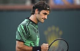 """Vòng 4 Indian Wells: Federer thắng """"thần tốc"""" Nadal"""