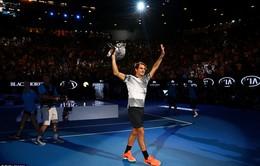 Các ngôi sao thể thao ngả mũ vì Roger Federer