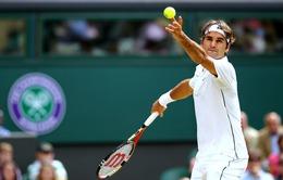 Roger Federer - đẳng cấp khi cầm giao bóng