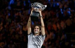 Roger Federer thăng tiến nhảy vọt trên BXH ATP