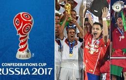 Lộ diện đầy đủ 8 đội tuyển tham dự FIFA Confederations Cup 2017