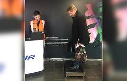 Hãng hàng không Phần Lan Finnair thử nghiệm cân trọng lượng hành khách