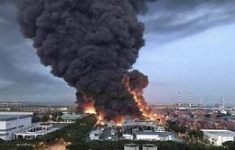Nhà máy xử lý chất thải ở Singapore bất ngờ bốc cháy